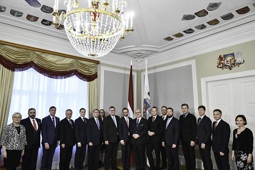 27.11.2019. Valsts prezidenta Egila Levita tikšanās ar Ziemeļvalstu un Baltijas valstu ministriem par digitālo transformāciju