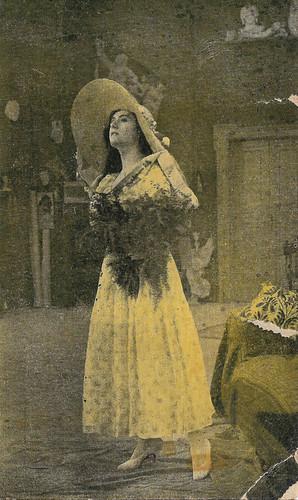 Francesca Bertini in Il processo Clemenceau