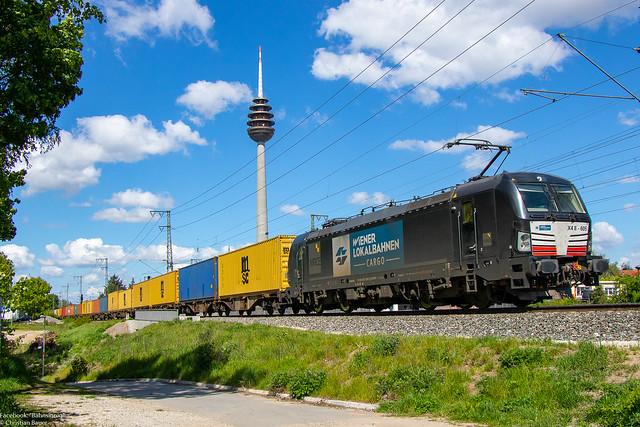193 605 (MRCE/WLC)   13.05.2019   Nürnberg Hohe Marter