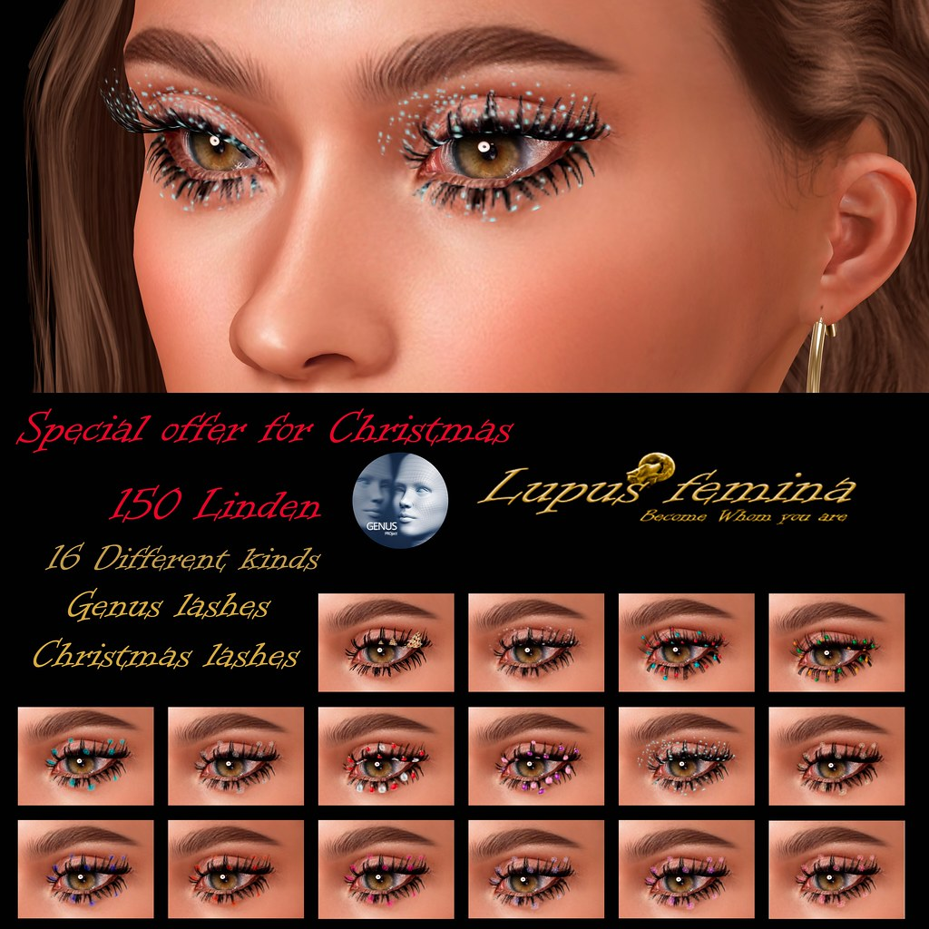"""Lupus Femina"" Christmas  Lashes - Special offer Genus"