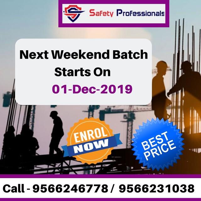 Safety Professionals Weekend Batch