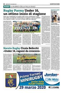 Gazzetta di Parma 27.11.19 - pag 52
