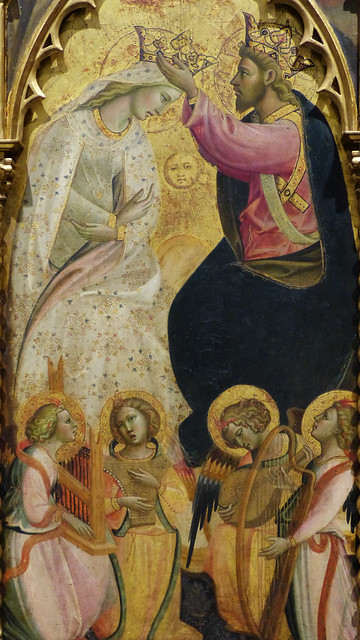 Wed, 09/09/2015 - 10:43 - 'Coronation of the Virgin' (1410) by Giovanni dal Ponte - Accademia Florence 09/09/2015