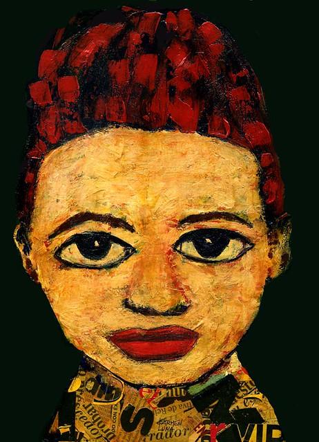 5-Retratos Expresionistas. Ilusión.