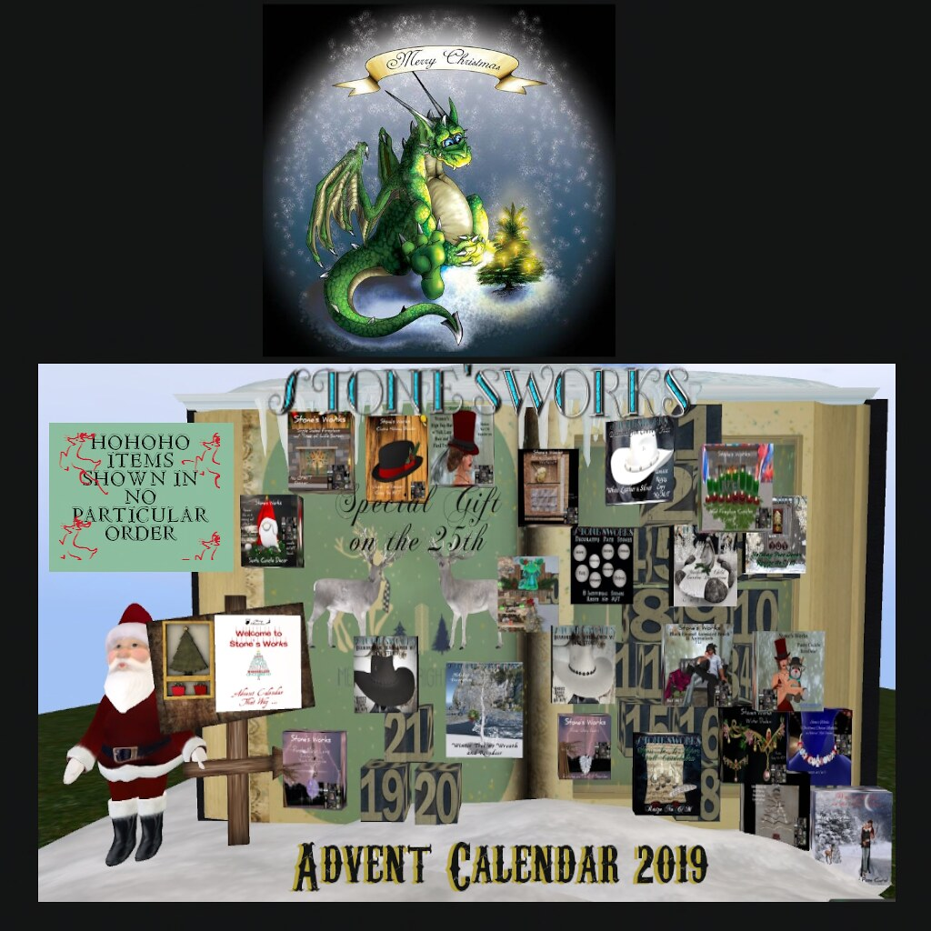 Stone's Works 2019 Advent Calendar
