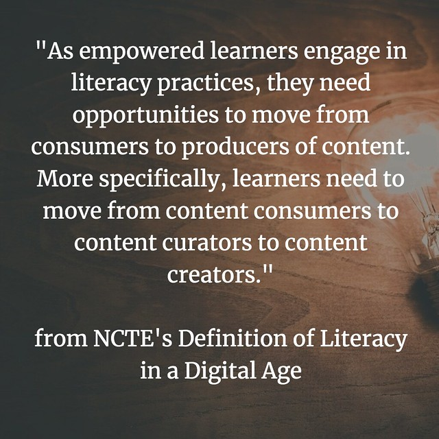 Defining Digital Literacies NCTE create