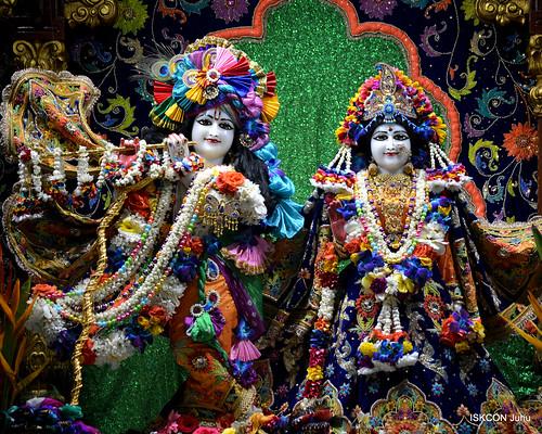 ISKCON Juhu Sringar Deity Darshan on 24th Nov 2019