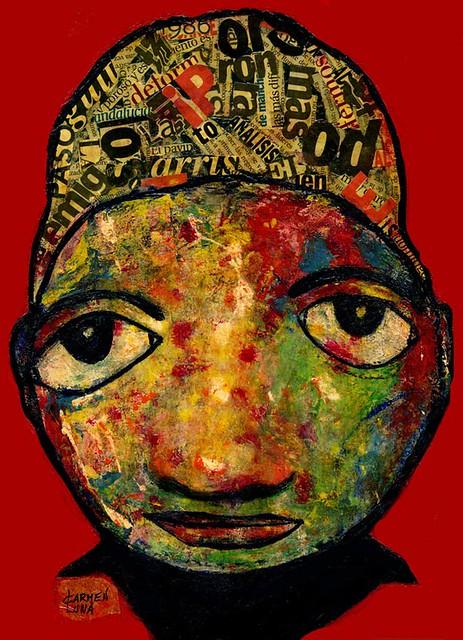 3-Retratos Expresionistas. Exótica.