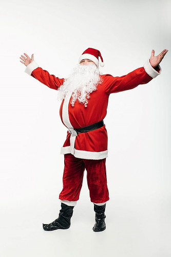 Мужской карнавальный костюм Санта Клаус