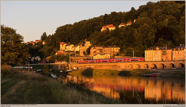 DBAG 146 014-6 @ Königstein (Sächsische Schweiz)
