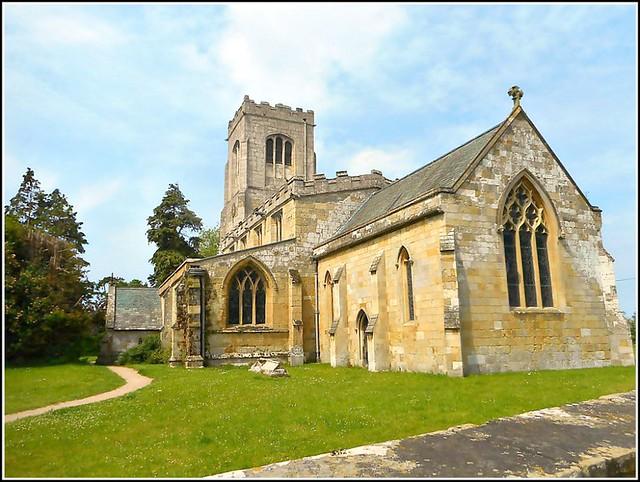 Burton Agnes Church ..