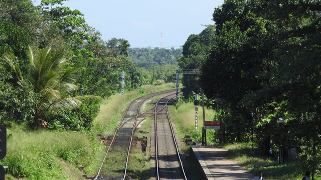 Rail from Gampaha to Veyangoda