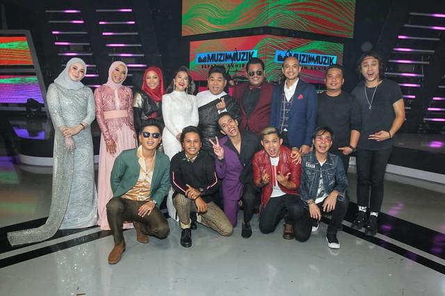Barisan artis yang telah membuat persembahan di minggu kedua SFMM34