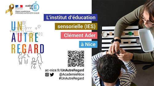 #UnAutreRegard sur l'institut d'éducation sensorielle Clément Ader de Nice