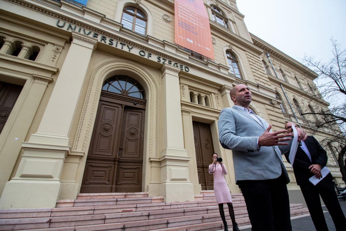 Szabó Bálint beperelte az egyetemet