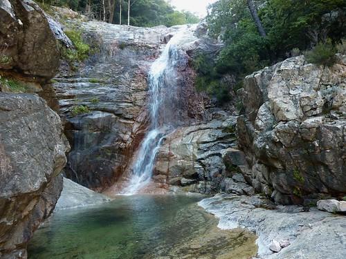 Sous Posta di a Strada : la cascade de 15m