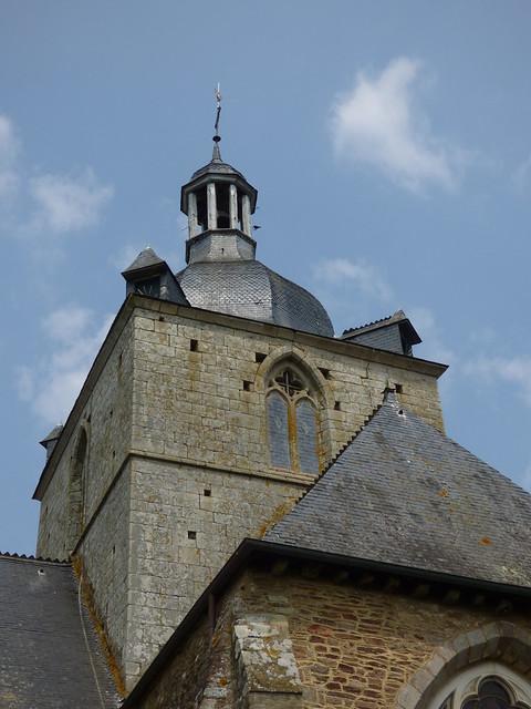 Église abbatiale de La Trinité...La Trinité-Porhoët
