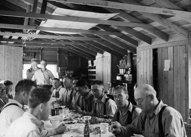 Gorge Creek lunchroom, 1935