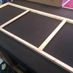 inserting canvas struts