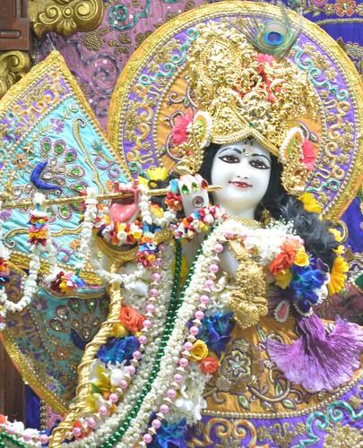 ISKCON Juhu Sringar Deity Darshan on 25th Nov 2019