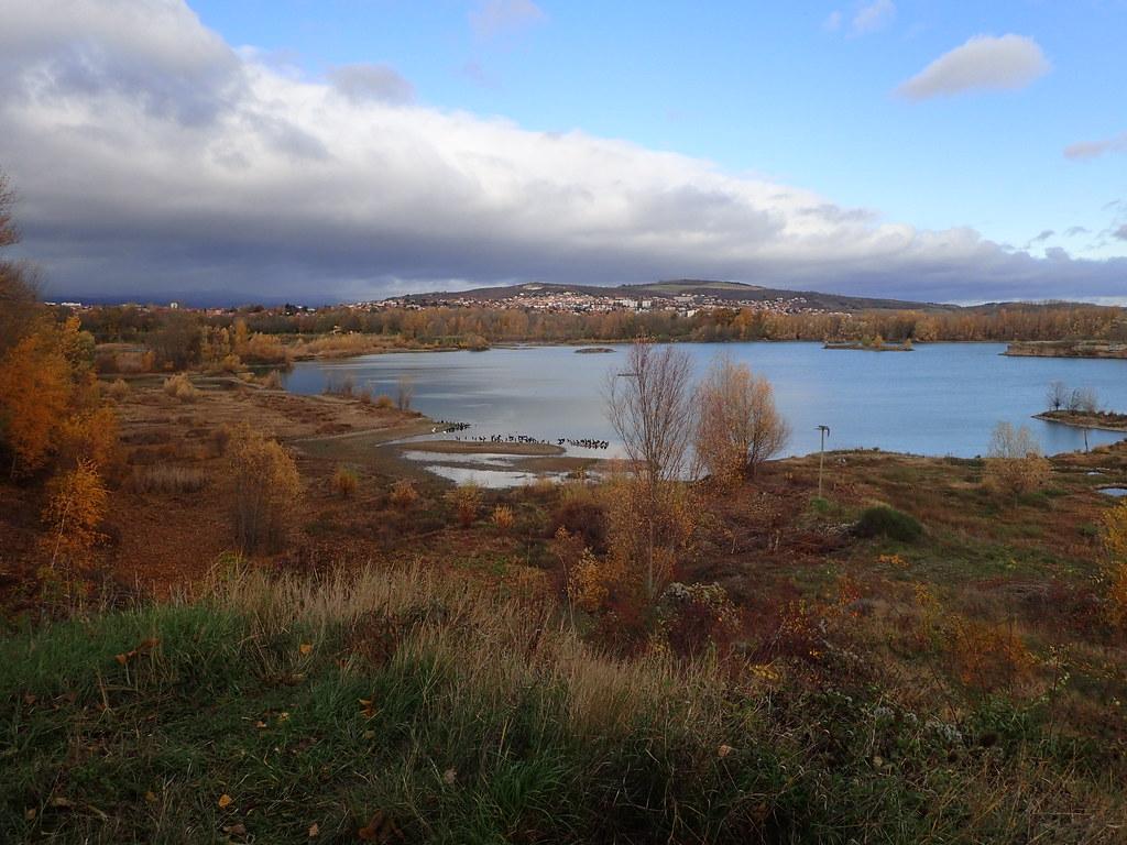 L'Allier et les étangs à Pérignat
