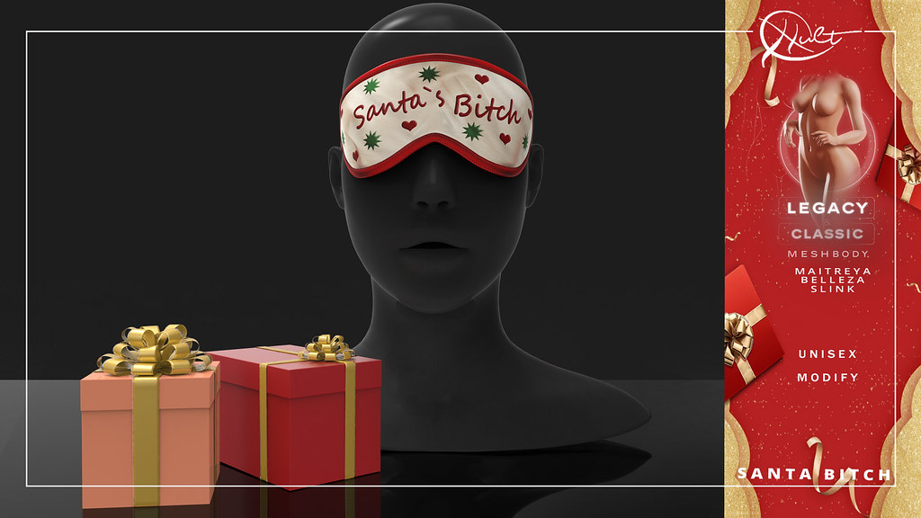 : CULT : Santas Bitch Eye Mask