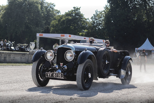 1928 Bentley Speed Six Le Mans Open Tourer - Chantilly the 30th of June, 2019