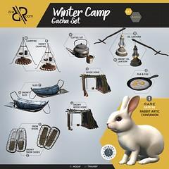 [Rezz Room] Winter Camp Gacha Set