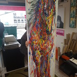 huge horse canvas print