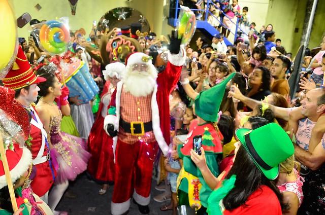 27.11.19. Chegada do Papai Noel terá espetáculo de Natal no Parque da Criança.