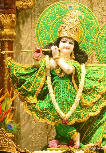 ISKCON Juhu Mangal Deity Darshan on 18th Nov 2019