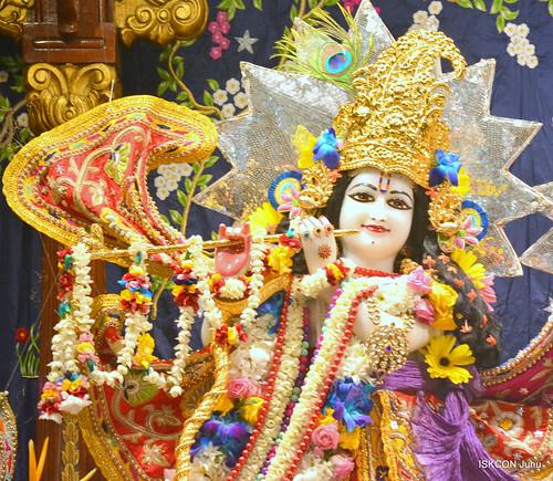 ISKCON Juhu Sringar Deity Darshan on 18th Nov 2019