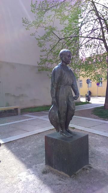 2005 Altlandsberg Kleiner Harlekin von Robert Metzkes Bronze Strausberger Straße in 15345