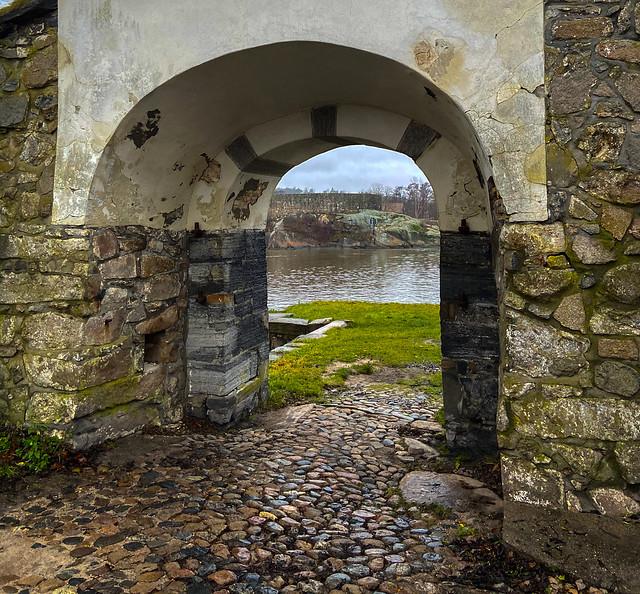 View through old Gateway