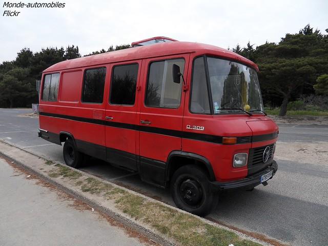 Mercedes D309 Camping-Car