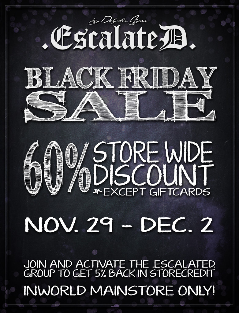 BLACK FRIDAY SALE | 60% Storewide