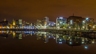 Liverpool Water Front by Night_-16