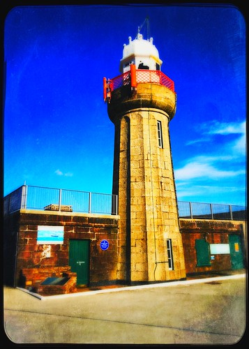 100xthe2019edition 100x2019 image100100 wall lighthouse hww dunmoreeast iphone6s hipstamaticapp fence railings harbour waterford ireland irish maritime