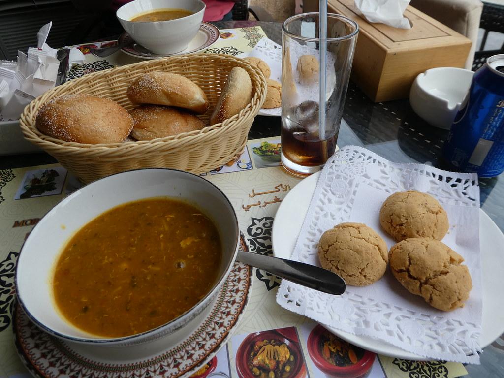Lunch at Tajeen in Souq Waqif, Doha