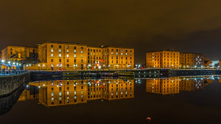 Liverpool Water Front by Night_-17