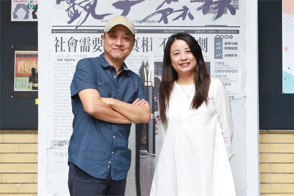 導演鄭文堂、編劇鄭心媚