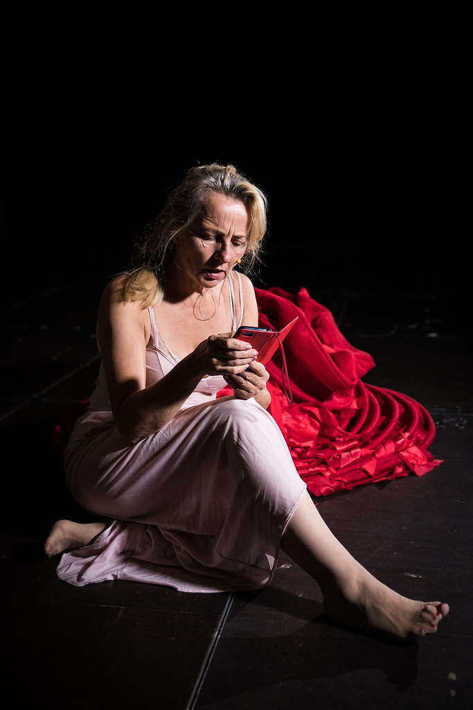 <p>Rehearsal for LADY based on Macbeth</p>