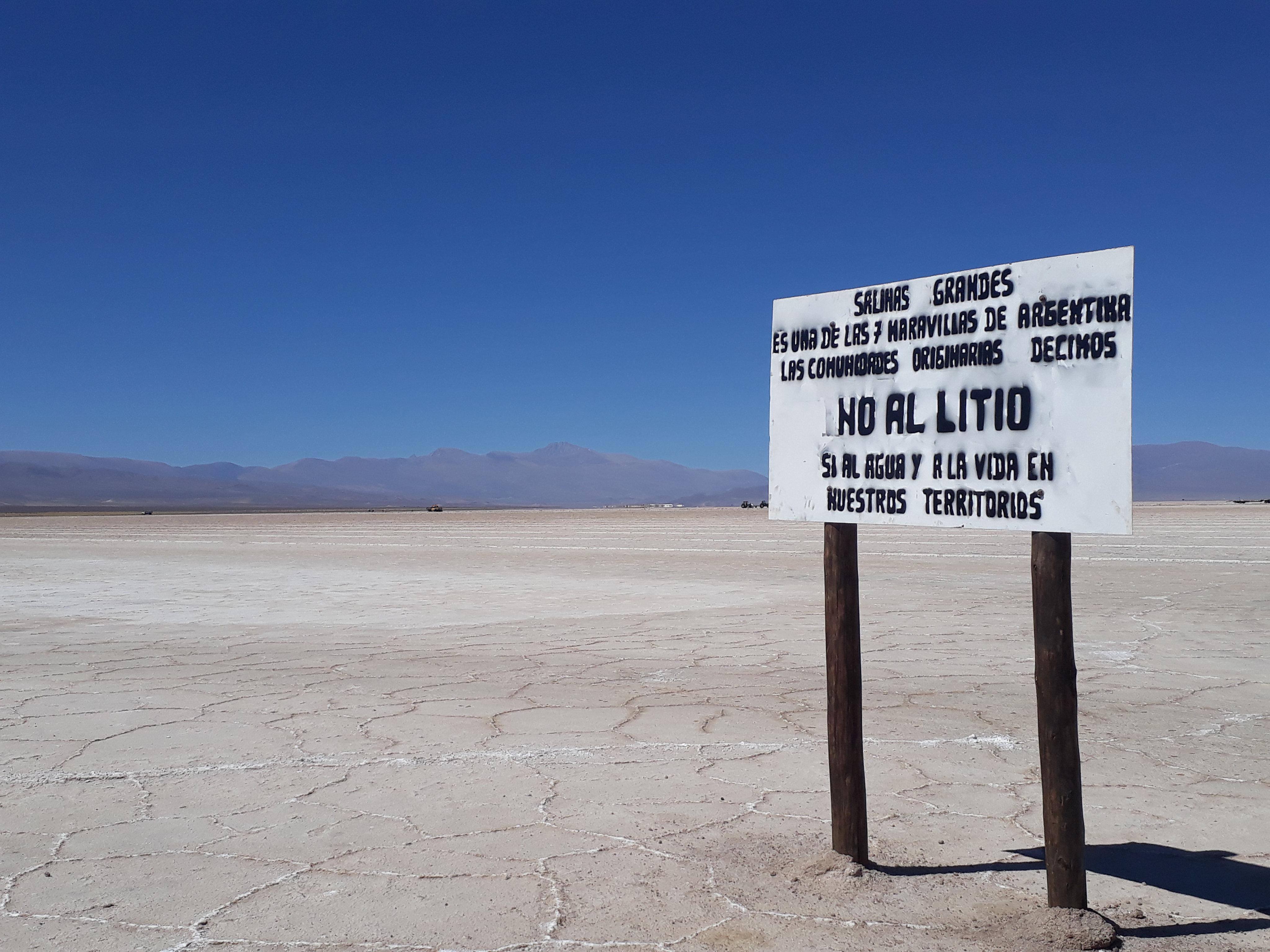 Litio y energías limpias en Argentina: ¿desarrollo o espejismo?