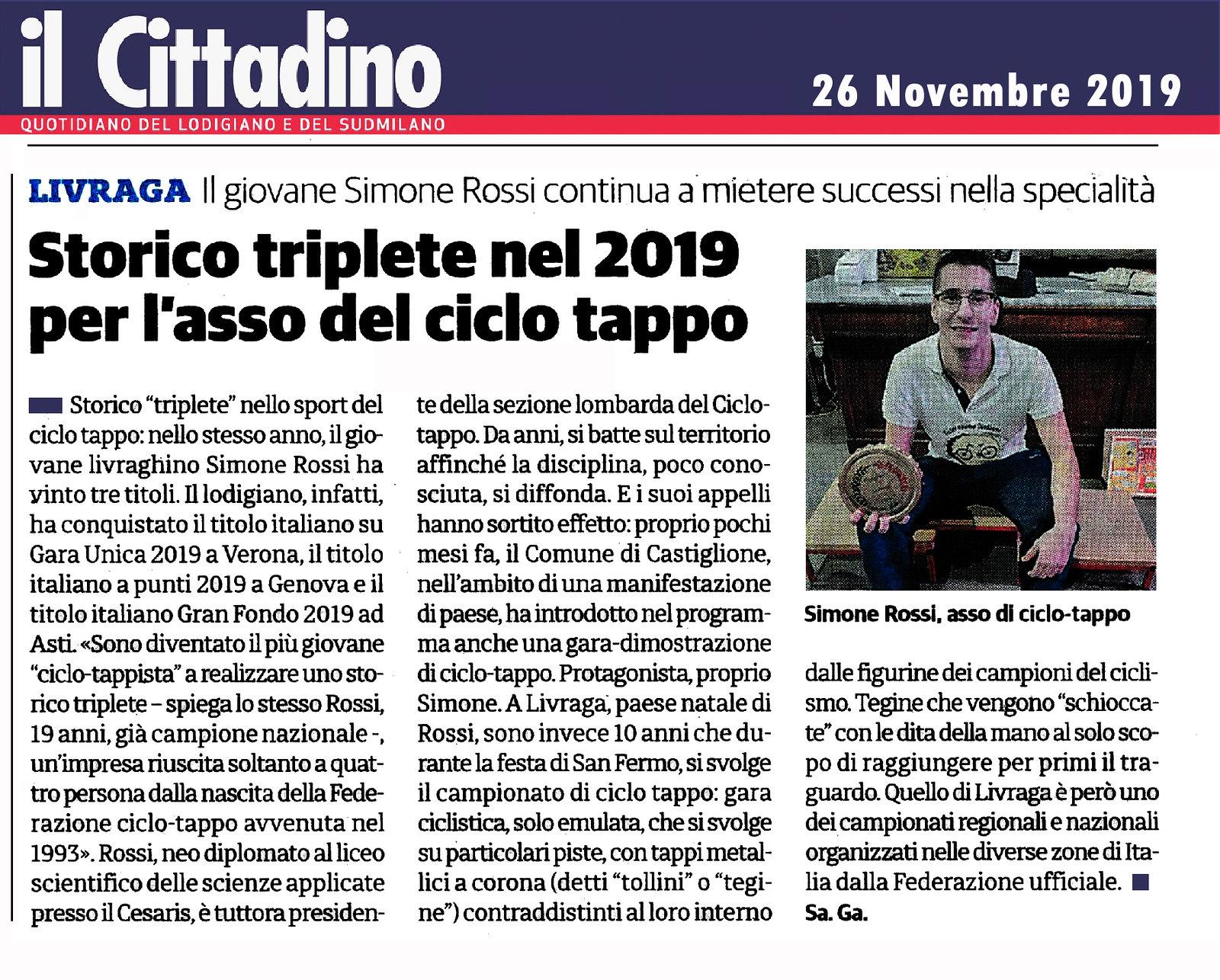2019-08-05 Il Cittadino di Lodi