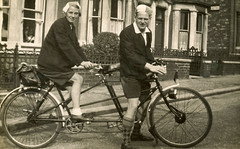 Albert & Gladys On Tandem