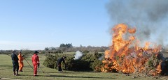 Gorse Burning on Greenham Common (c) A R Wallington