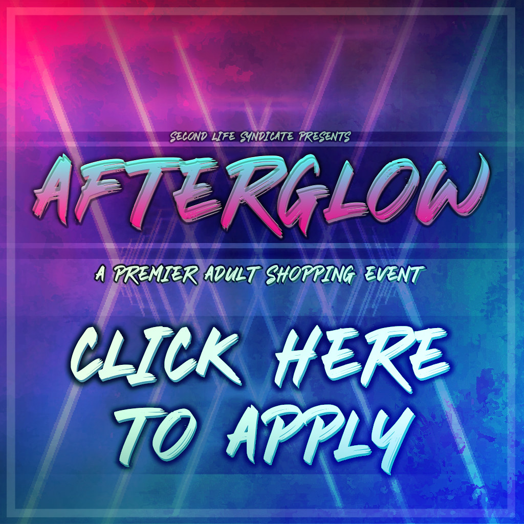 Afterglow Event - Applications Open!