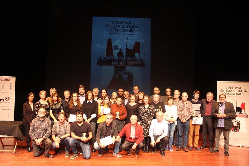 20191127 Gala de Cloenda Festival Cinema Ciutadà Compromés 2019