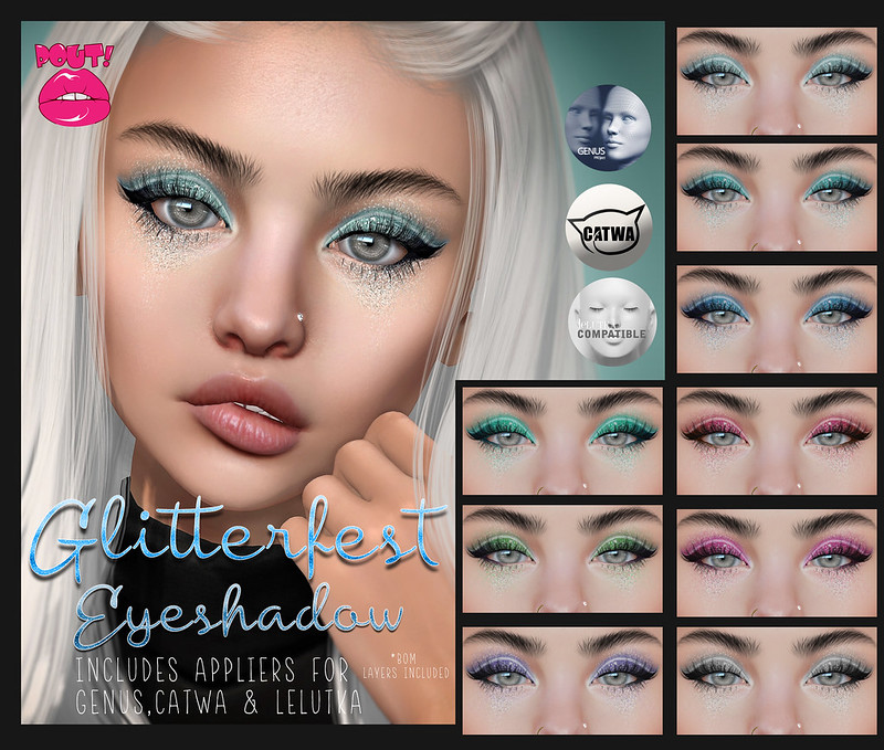 [POUT!] Glitterfest Shadows - Group Gift