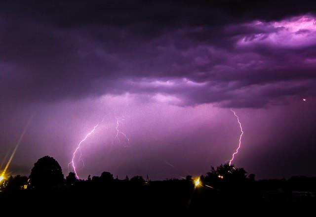 Thunderstorm, Rosendahl, Germany, 23-06-2016